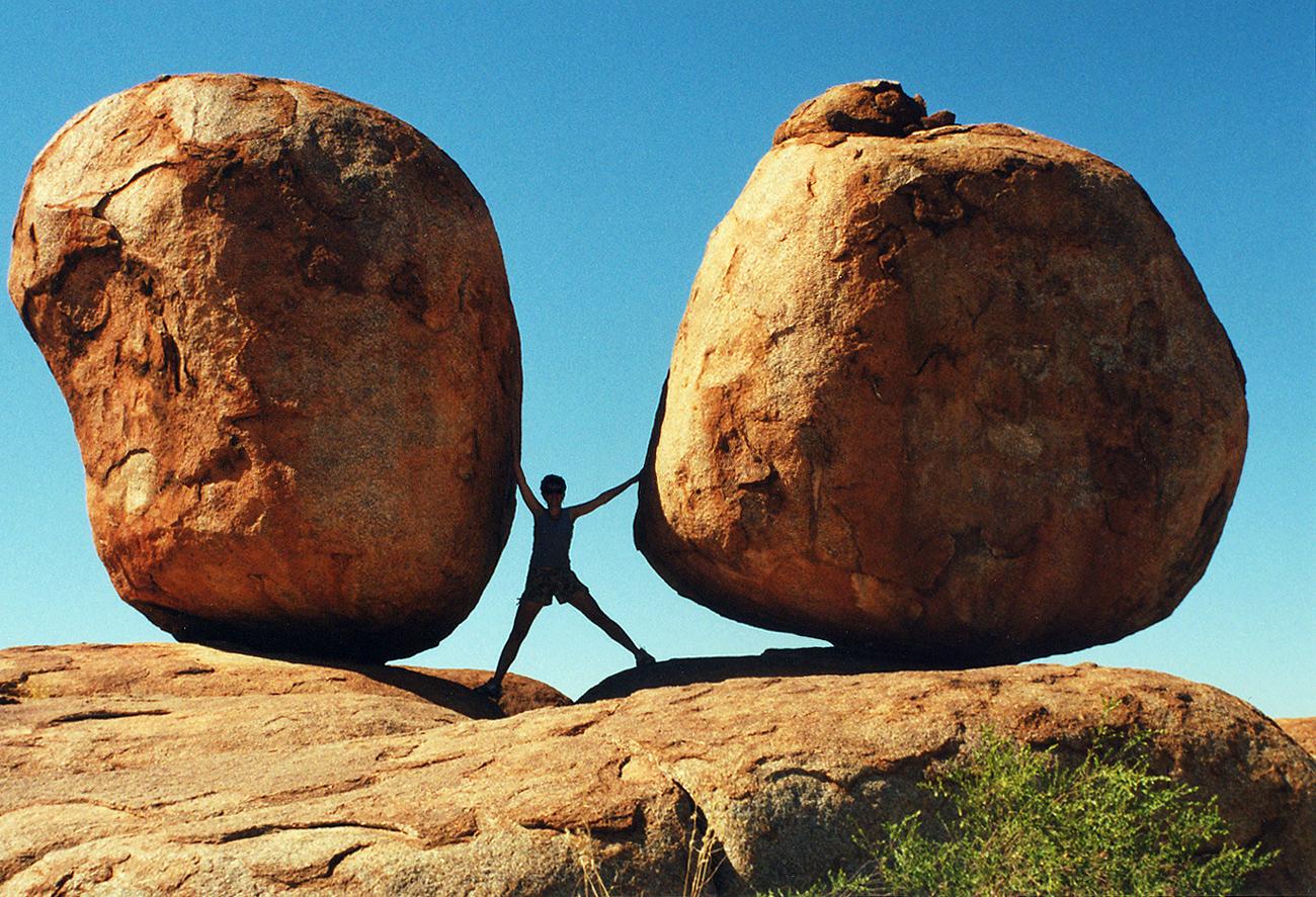 Piensa algo más pequeño: ¡parte por las piedras y quizás llegues a mover montañas!