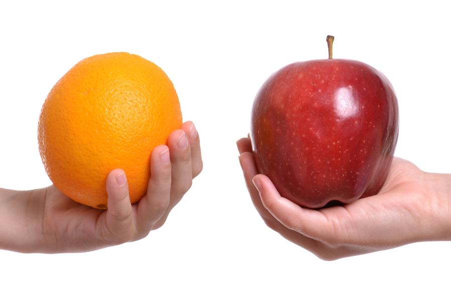 ¡Atención con las comparaciones!