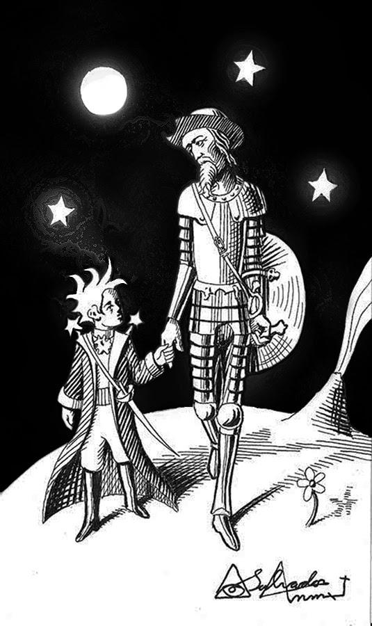 Evocando al Quijote y el Principito
