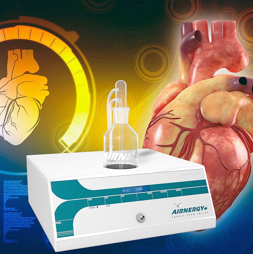 Estudiosobre variabilidad del ritmo cardiaco (VRC) con respecto a la eficacia de la terapia con oxígeno Airnergy