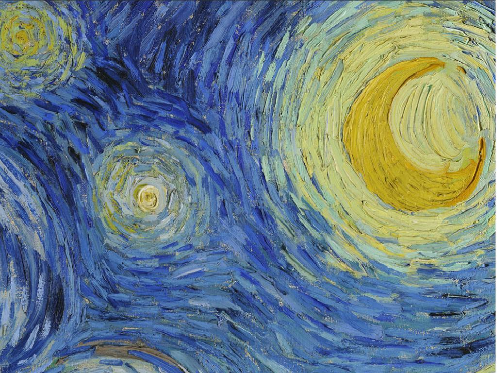 «La Noche Estrellada» de Vincent van Gogh